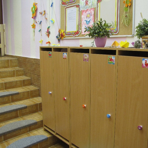 Детский сад - раздевалка